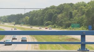 Eastbound I-496 reopens for travel