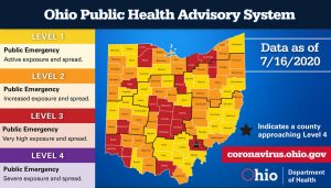 Travel from Florida, other southern states linked to coronavirus surge in central Ohio, Gov. Mike DeWine says