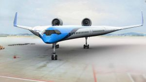 'Flying-V' airplane makes successful maiden flight