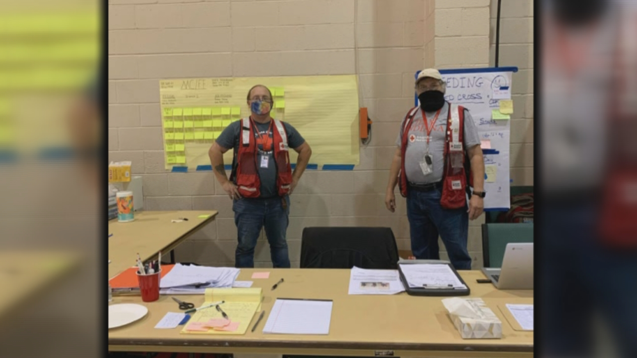 Fort Wayne volunteers with American Red Cross travel to Oregon to help wildfire victims
