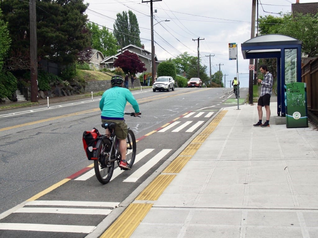 Do you travel along NE 65th St between NE Ravenna Blvd and 39th Ave NE? You're safer after the redesign, says our new evaluation report.