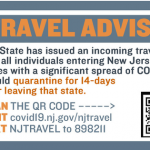 Coronavirus Travel Advisory Grows to 41 States, PA, CT and DE Exempt