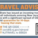 Coronavirus Travel Advisory Grows to 41 States, PA, CT and DE Exempt