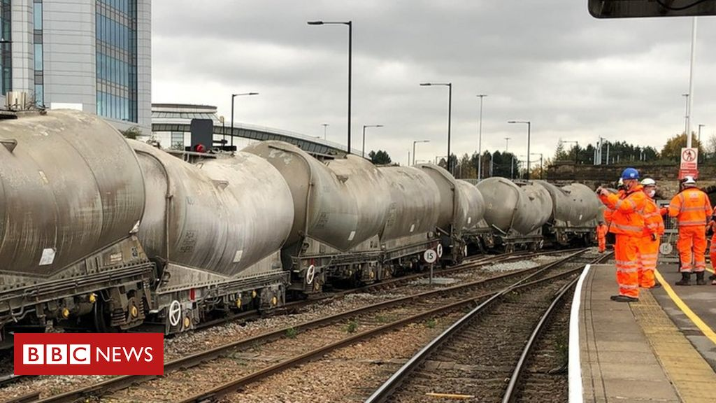 Sheffield freight train derailment causes major travel disruption – BBC News