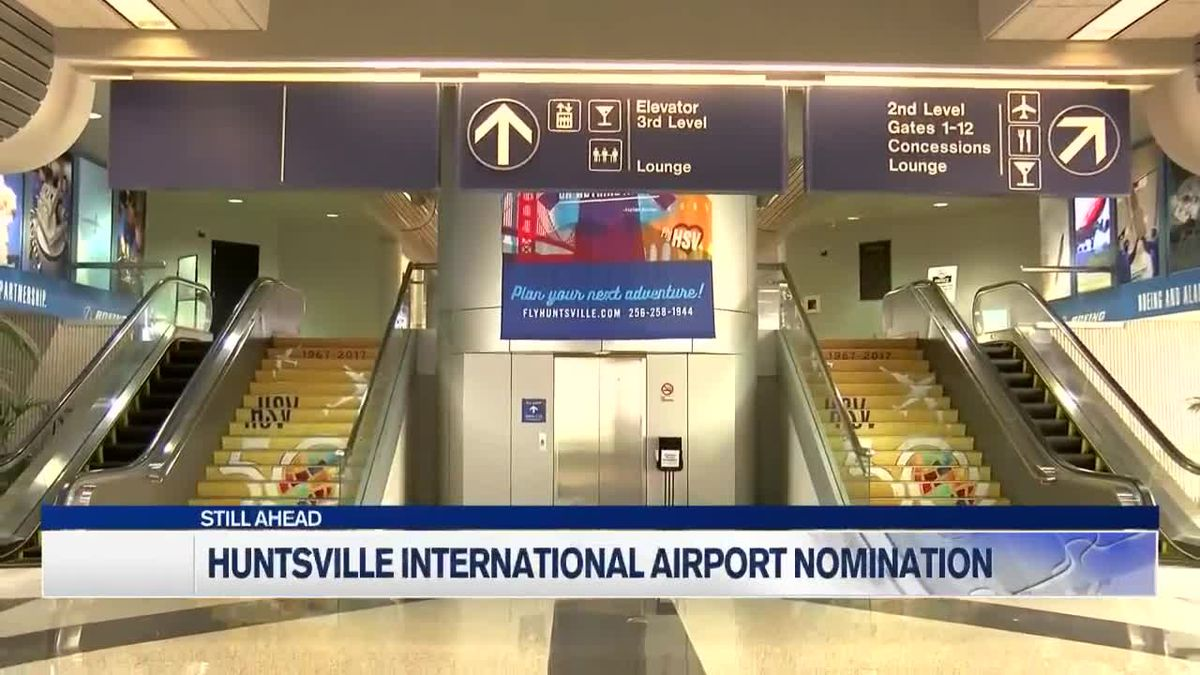 Huntsville International Airport nominated for USA Today 10Best Readers' Choice travel award – WAFF