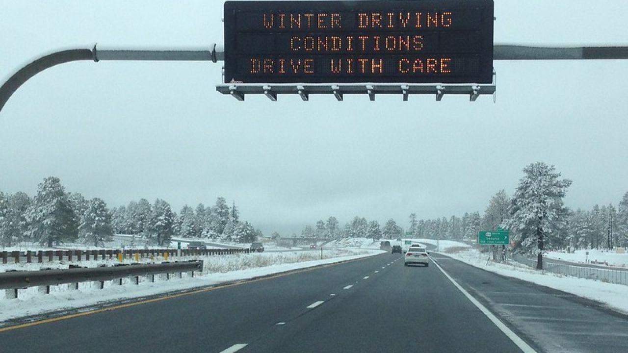 ADOT advises travel delays due to Arizona high country snow