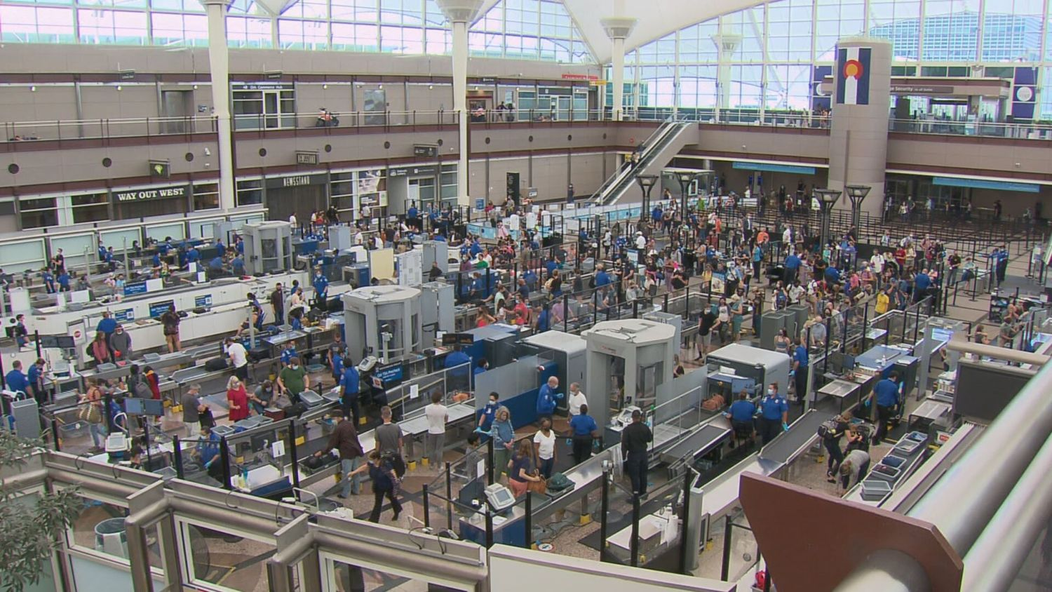 Air Travel At Denver International Airport Is 'Totally Different Right Now' – CBS Denver