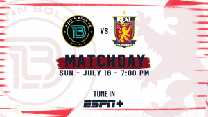 Real Monarchs Travel to Austin Bold FC
