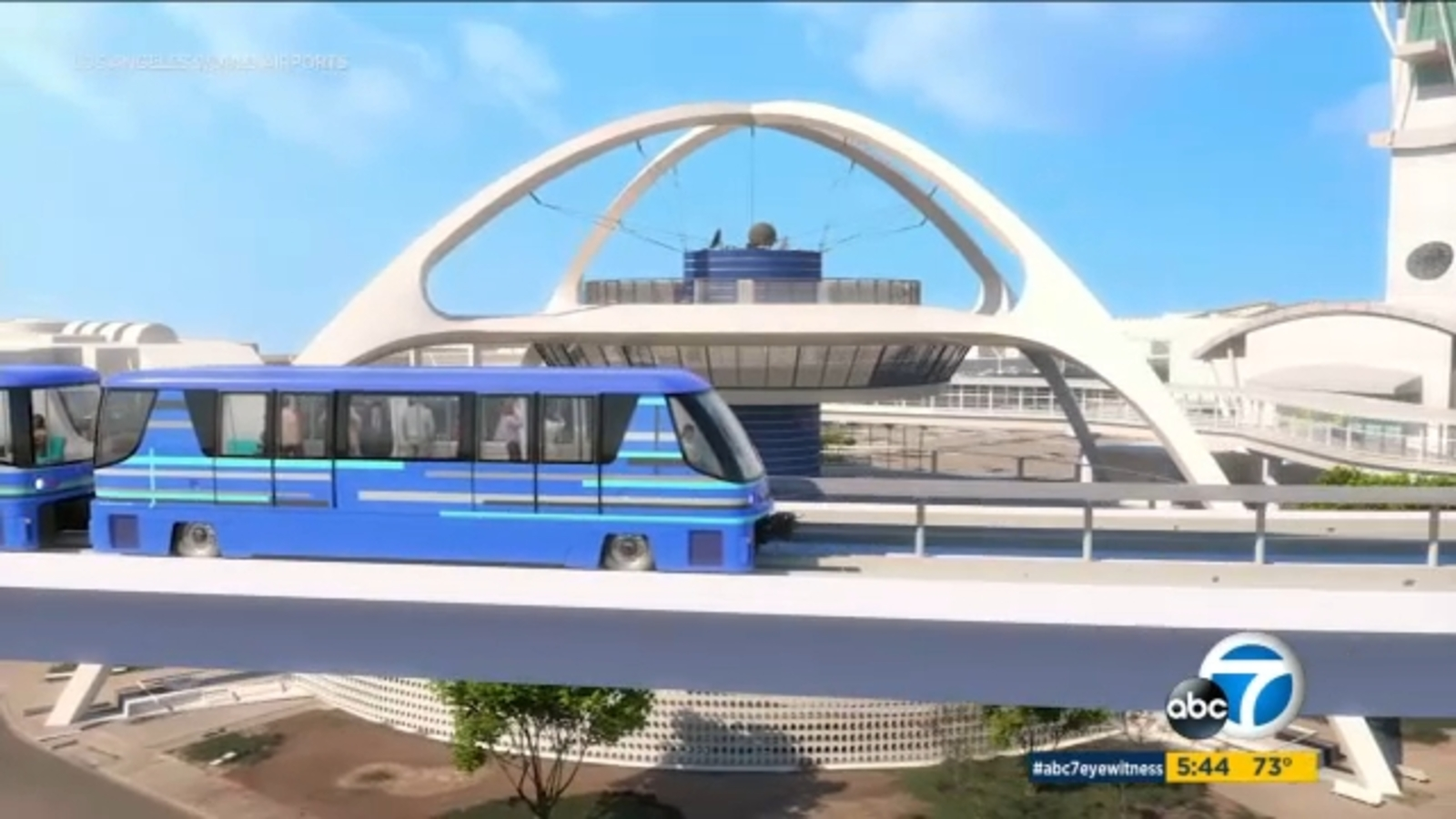 New People Mover train coming to LAX expected to revolutionize travel