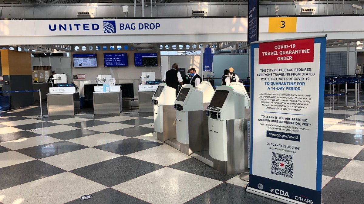 3 Locations Removed From Chicago's Travel Advisory This Week – NBC Chicago